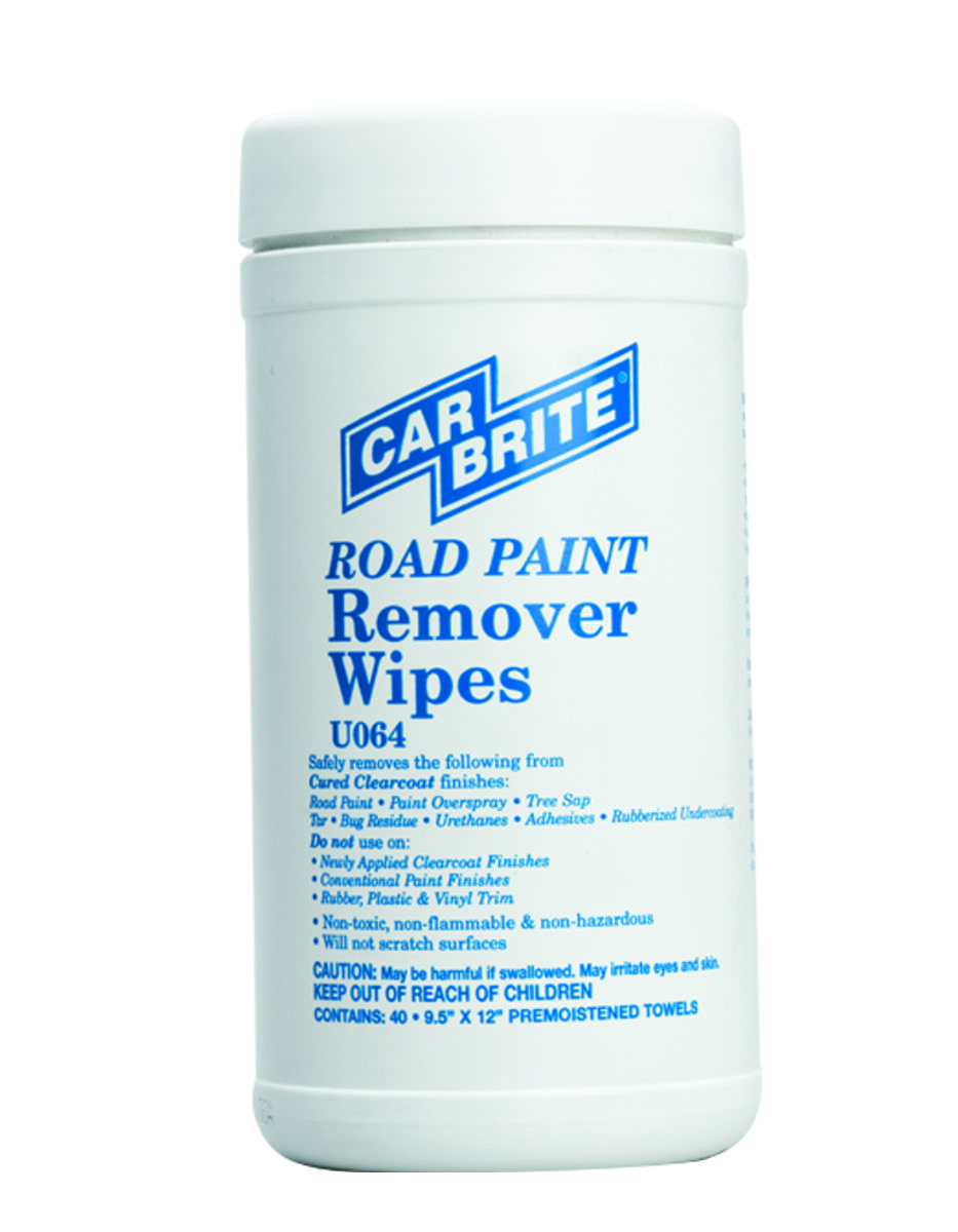 Road Paint Remover Wipes