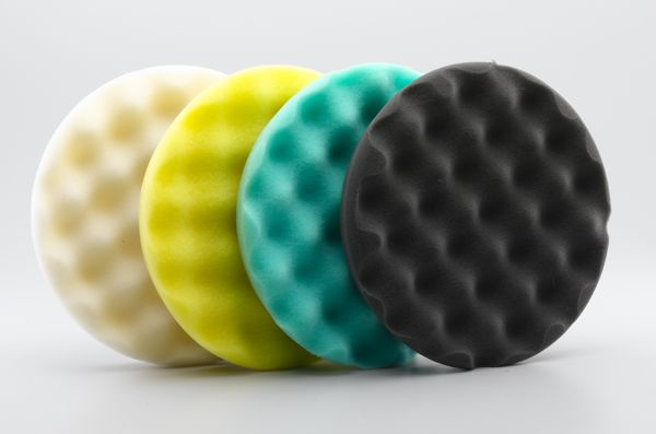 CARBRITE WAFFLE PADS W/ CENTER RING - 7.5