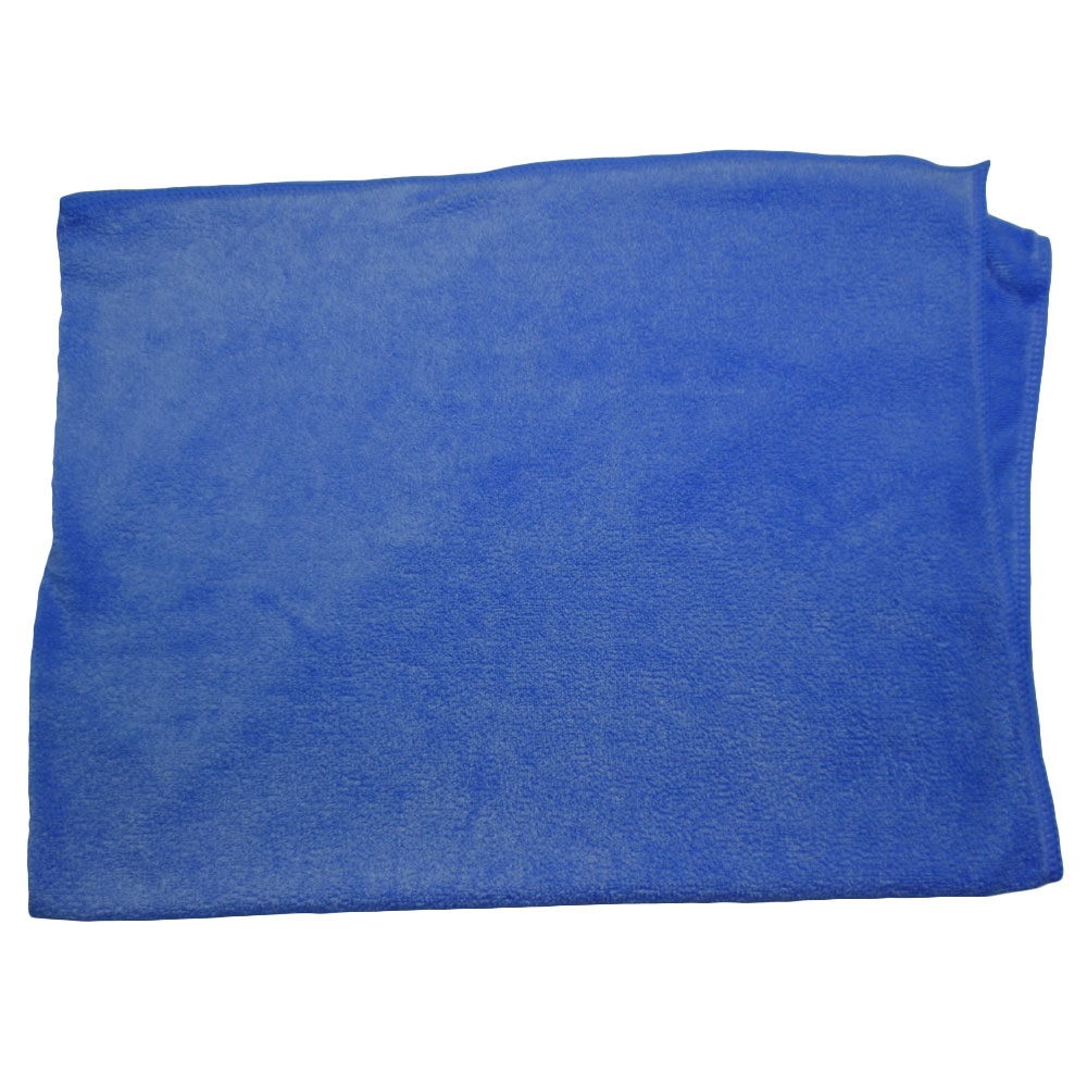 Plush Blue Chamois Size Microfiber