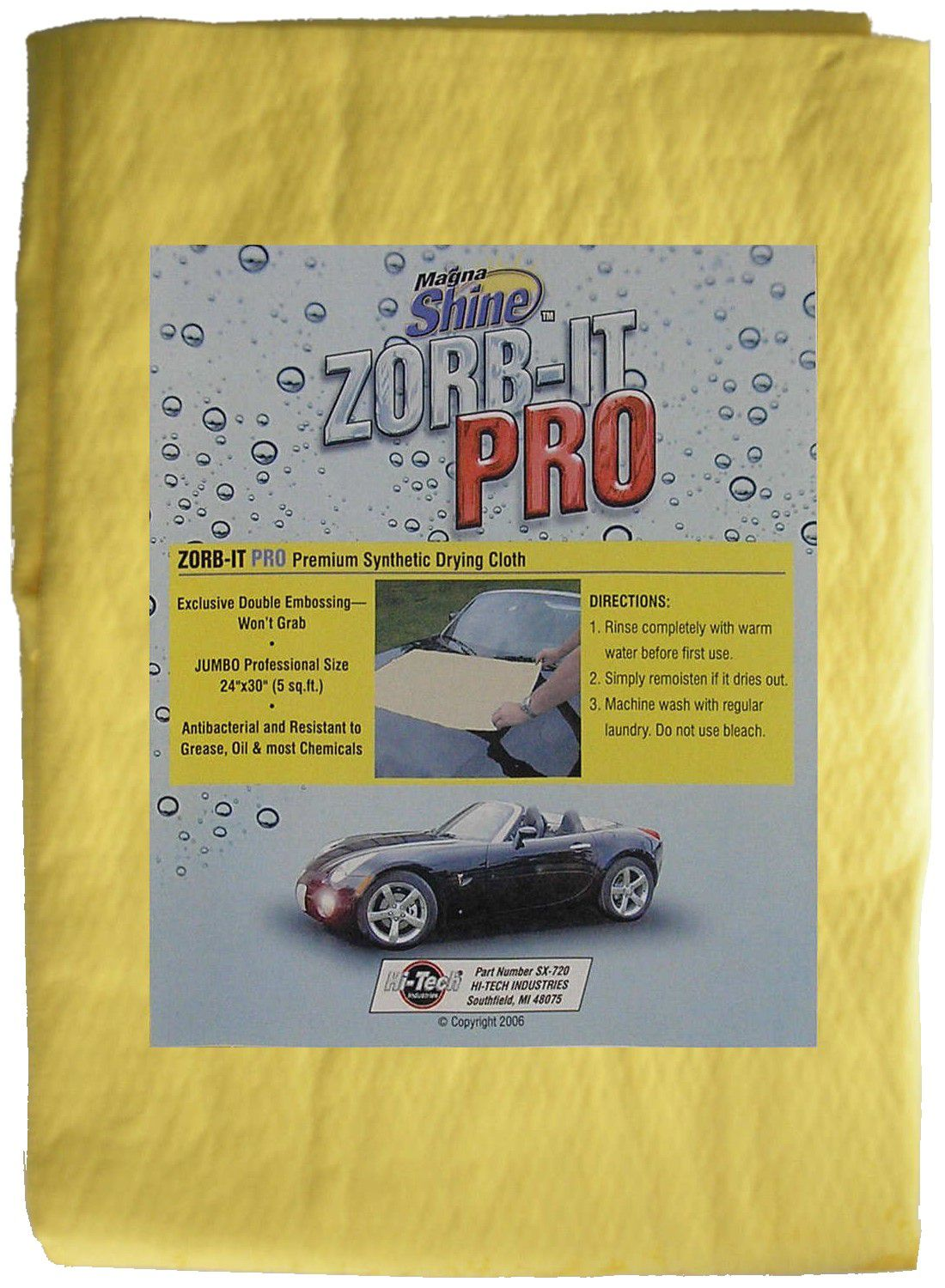 ZORB-IT™ Pro Synthetic Drying Cloth