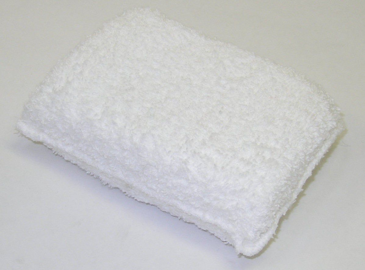 Terry Cloth Rectangle Wax Pad