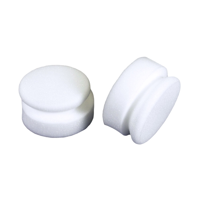 Tire Dressing Applicator - Large, Round White