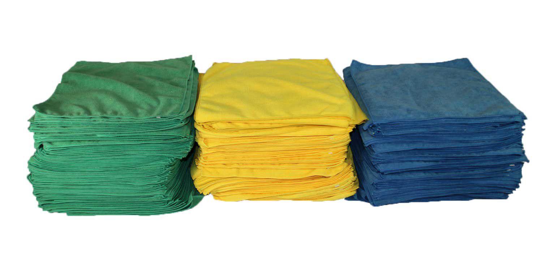 Econo Microfibre Cloths