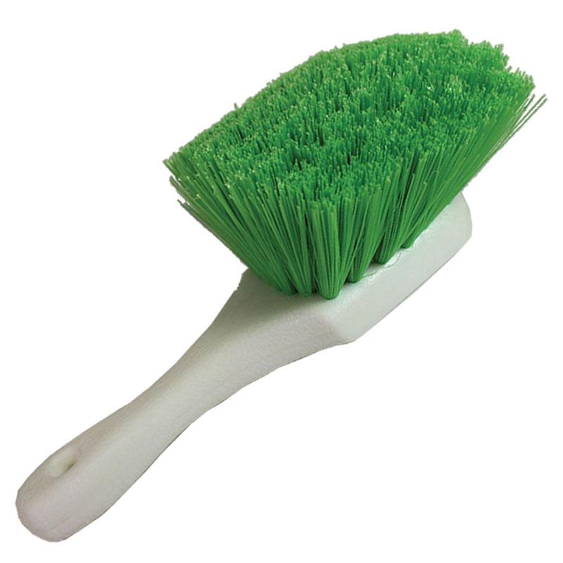 Short Handle Green Nylex Brush