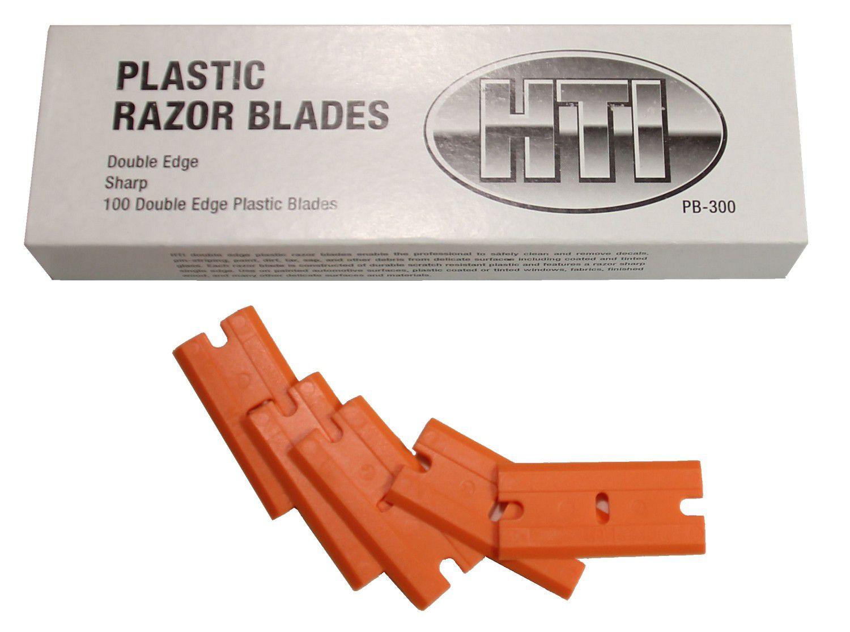 Plastic Double Edge Razor Blades