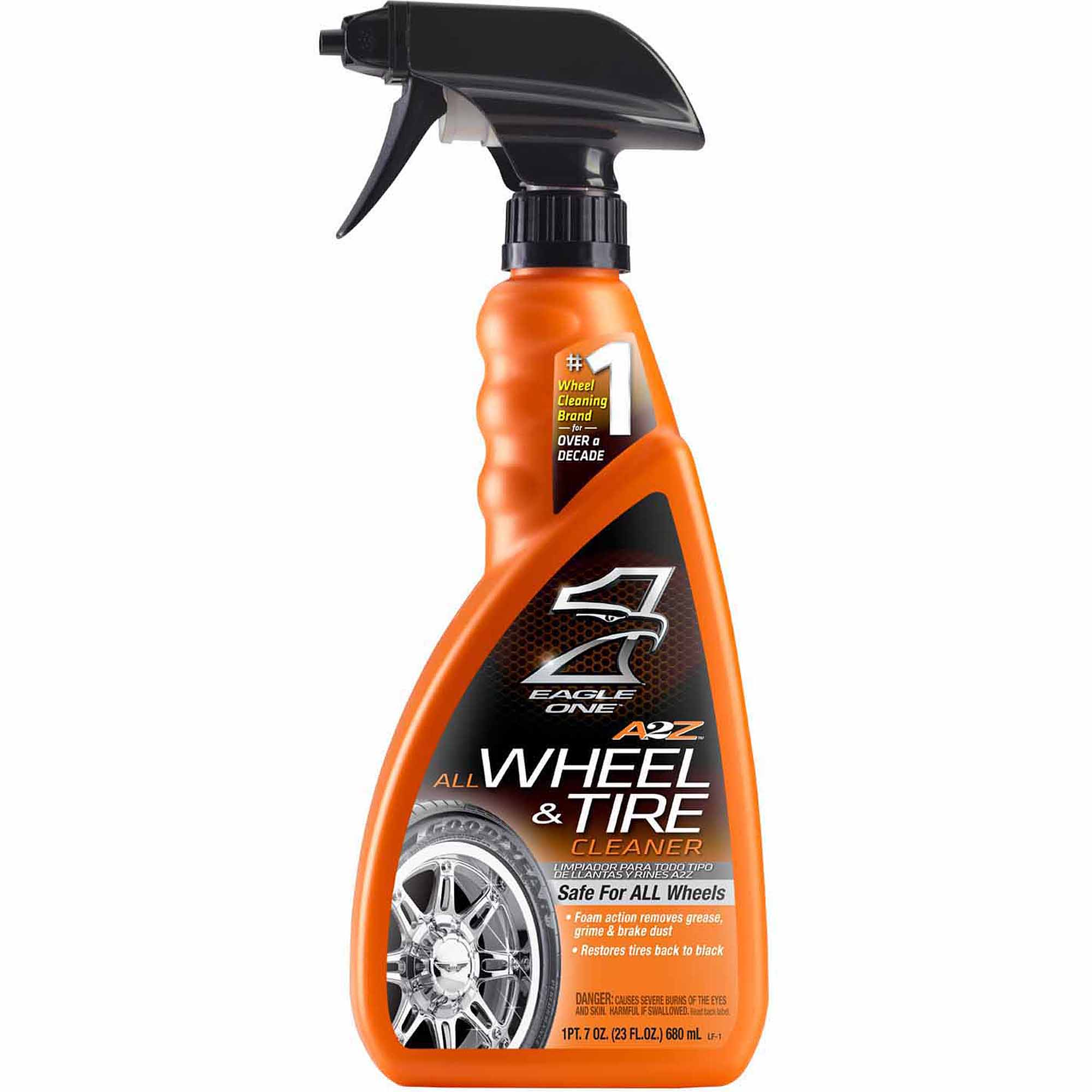 A2Z Wheel & Tire Cleaner - Eagle One