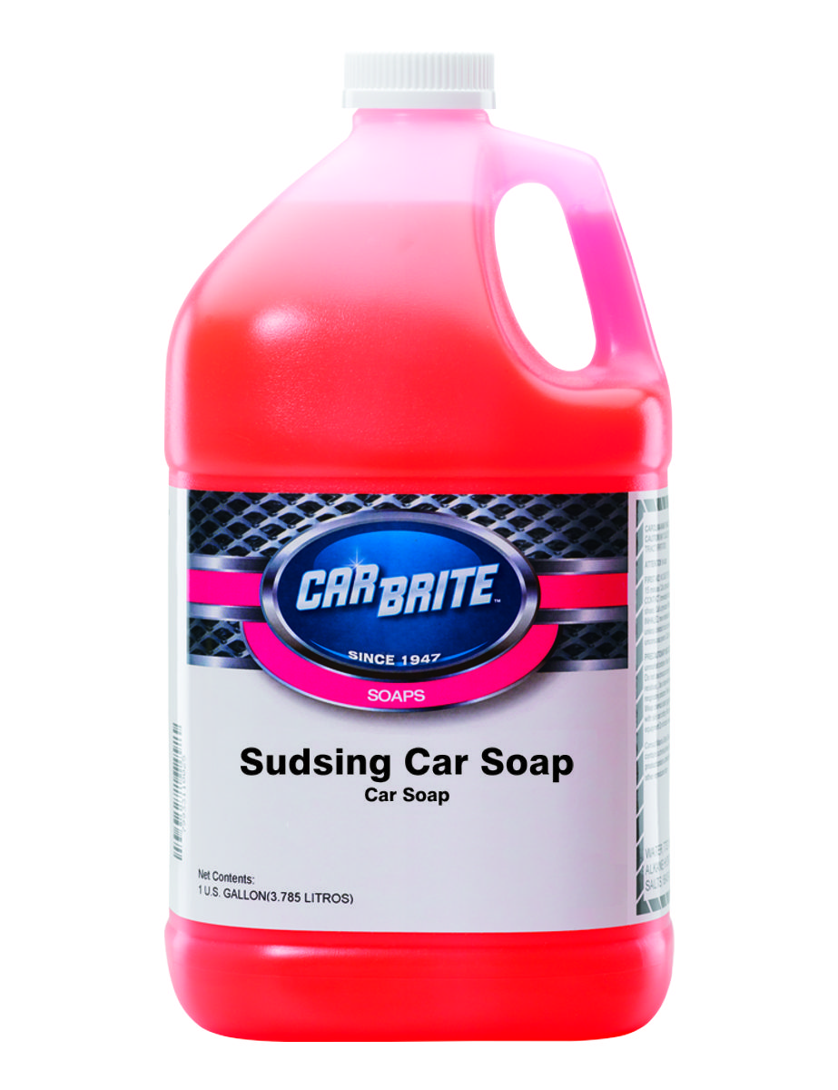 Sudsing Car Soap