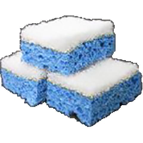 APPLICATOR SPONGES BLUE & WHITE - 2/PACK